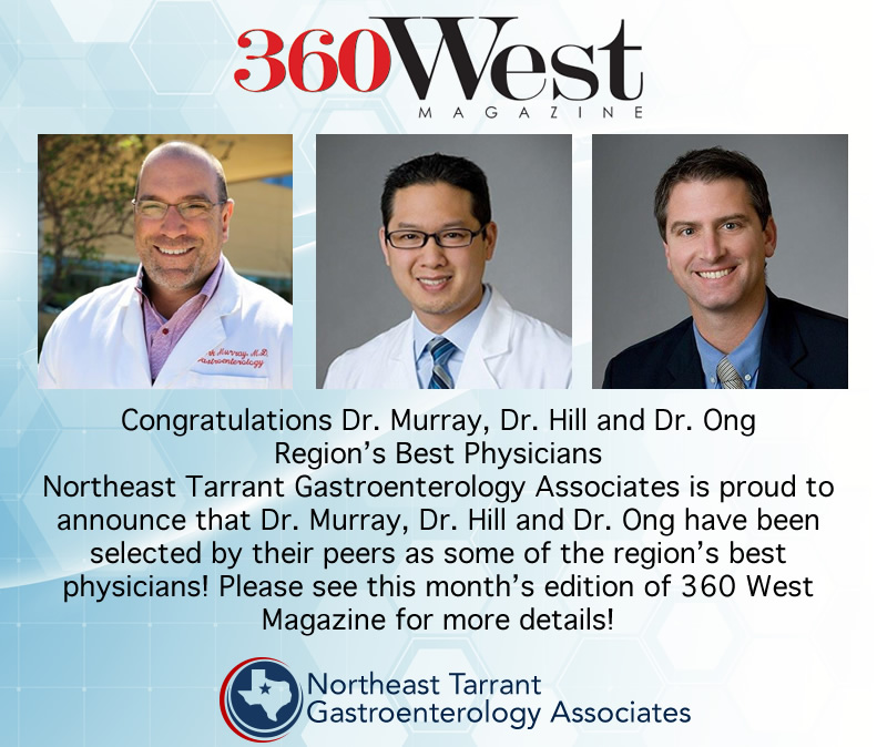 360 West Magazine top doctors