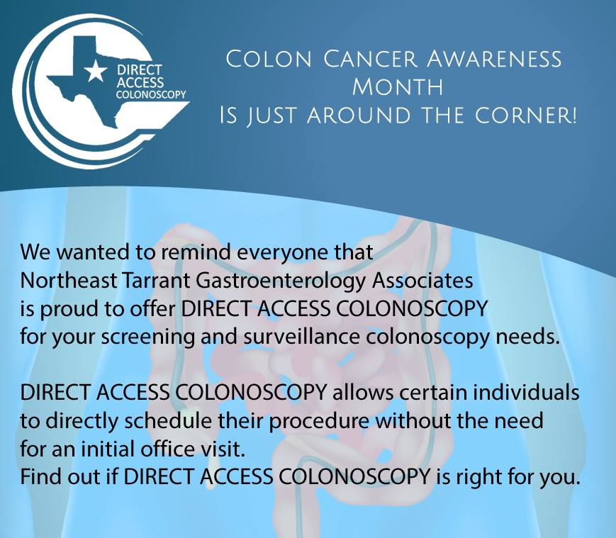 Direct Access Colonoscopy